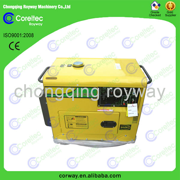 Top Selling Recoil/Electric Start Single Phase 12kva silent diesel generator
