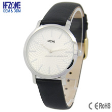 factory custom genuine leather new design fashion women watch