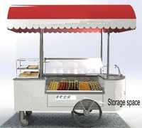 12 trays popsicles ice cream food vending carts for sale