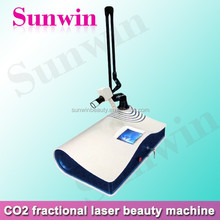 home use co2 fractional laser for wrinkle spot scar pigment removal equipment/medical fractional co2 for sale