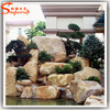 Stylize artificial large river slate rock stones white rocks landscaping