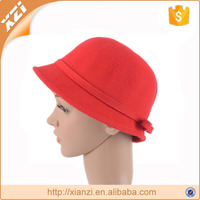 polyester ladies bowler hat short brim bowler cloche formal derby hat