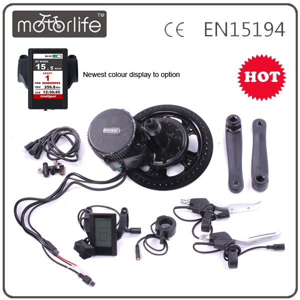 Motorlifetech supply bulk bafang bbs03 48v 1000w electric bike mid drive conversion kits
