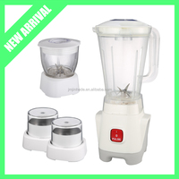 2016 New Arrival 4 in 1 Food Processor Blender Juicer 1.5L Plastic Jar with Mill Chopper