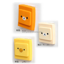 colorful safety silicone light switch cover, Dust-Proof Anti-electric shock Waterproof Switch Cartoon Decorating cover