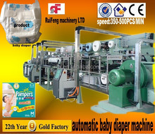 Specialized in Manufacturing RF-NKB Full Automatic Disposable Baby Diaper Making Machine