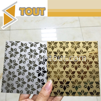 Gold color mirror finished stainless steel sheet
