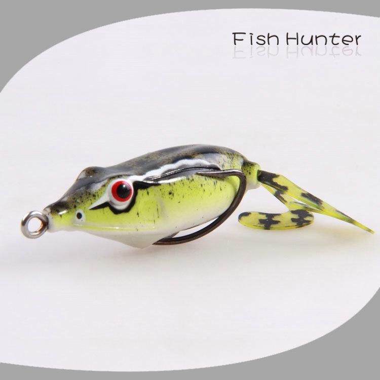 Wholesale frog soft lure online buy best frog soft lure for Frog bait fishing