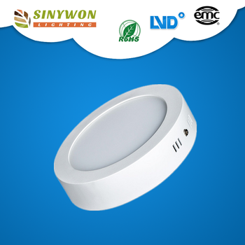 Sinywon 18W Round LED ceiling panel light Surface Mounted LED Downlight