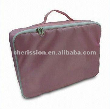 pink pvc promotional cosmetic bag