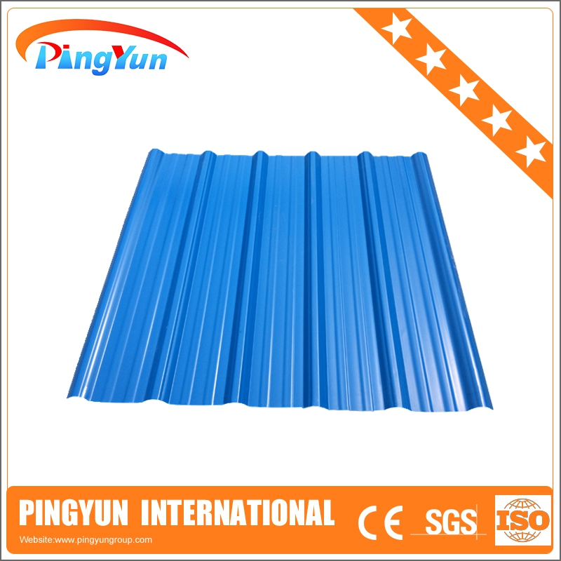 plastic corrugated roofing sheets/pvc roof edge tile/spanish corrugated plastic roofing sheets