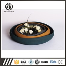 Home decoration porcelain plate for new design