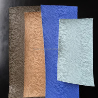 Good quality 1.2mm nonwoven fabric of pvc bag leather made in Jiangsu