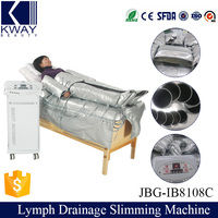 Detox slimming massage pressotherapy air pressure lymphatic drainage machine
