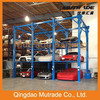 Mutrade 3/4 levels four post stacker parking and storage system for car dealership