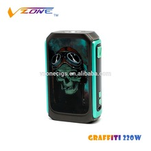 New hot selling products vzone smoking pipes vapor starter kit e vaporizer smok r80 ecig ultrasonic cleaner Graffiti 220w