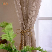 new products 2016 100% poly white tulle embroidered lace curtain