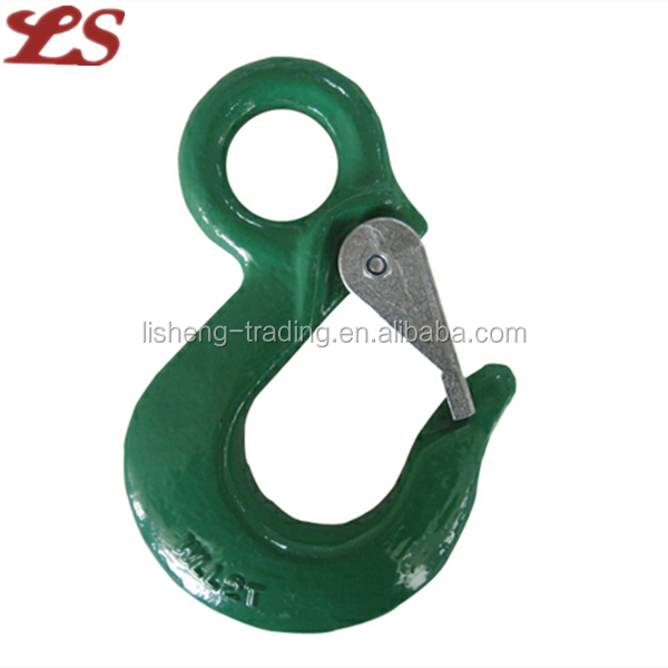 Alloy steel forged G80 Eye Hook with Cast Latch