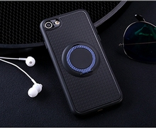 360 Rotating Magnetic Phone Cover Case Stand Case with Ring Holder for Huawei p10 p10lite