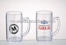 400ml 12oz acrylic personalized plastic beer pong cup/mug