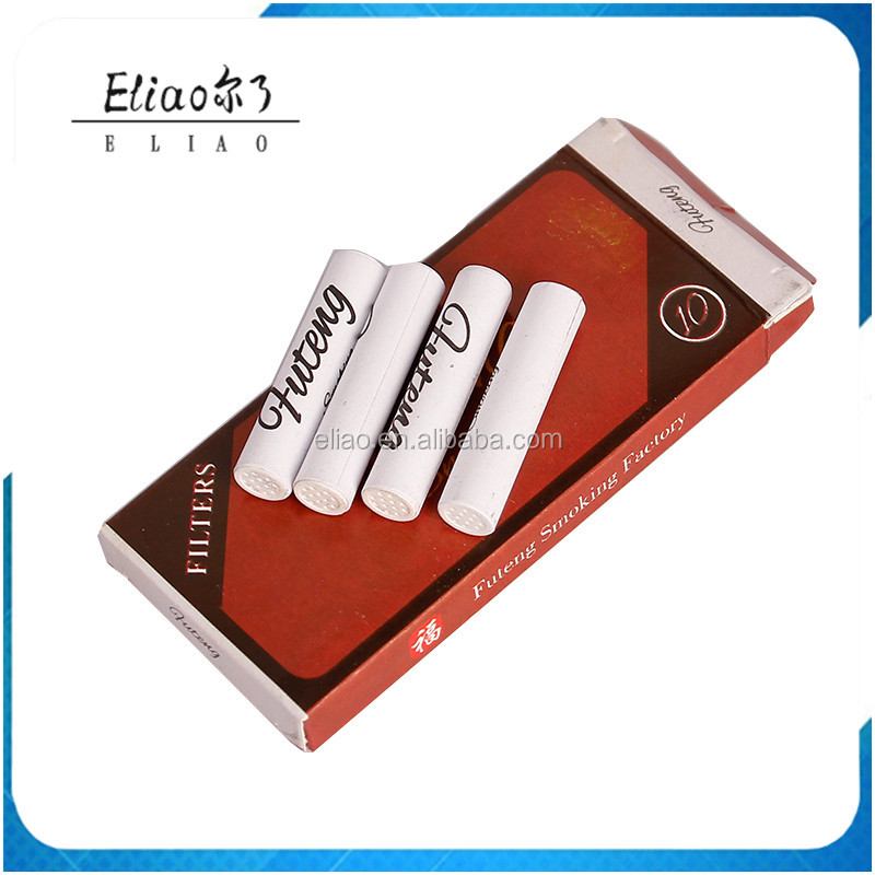 Cheap Futeng Smoking Accessories 9mm Smoking Pipe Filters for Wooden Tobacco Pipe Activated Carbon Filters