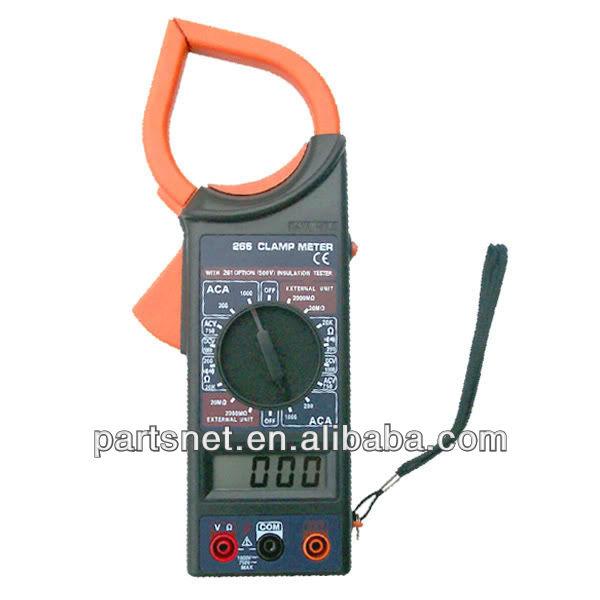 Digital Clamp Meter Dt 266 : Clamp meter manual windowdagor