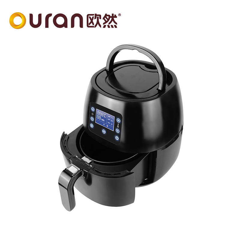 Electric no oil continuous fryer chicken machine air fry