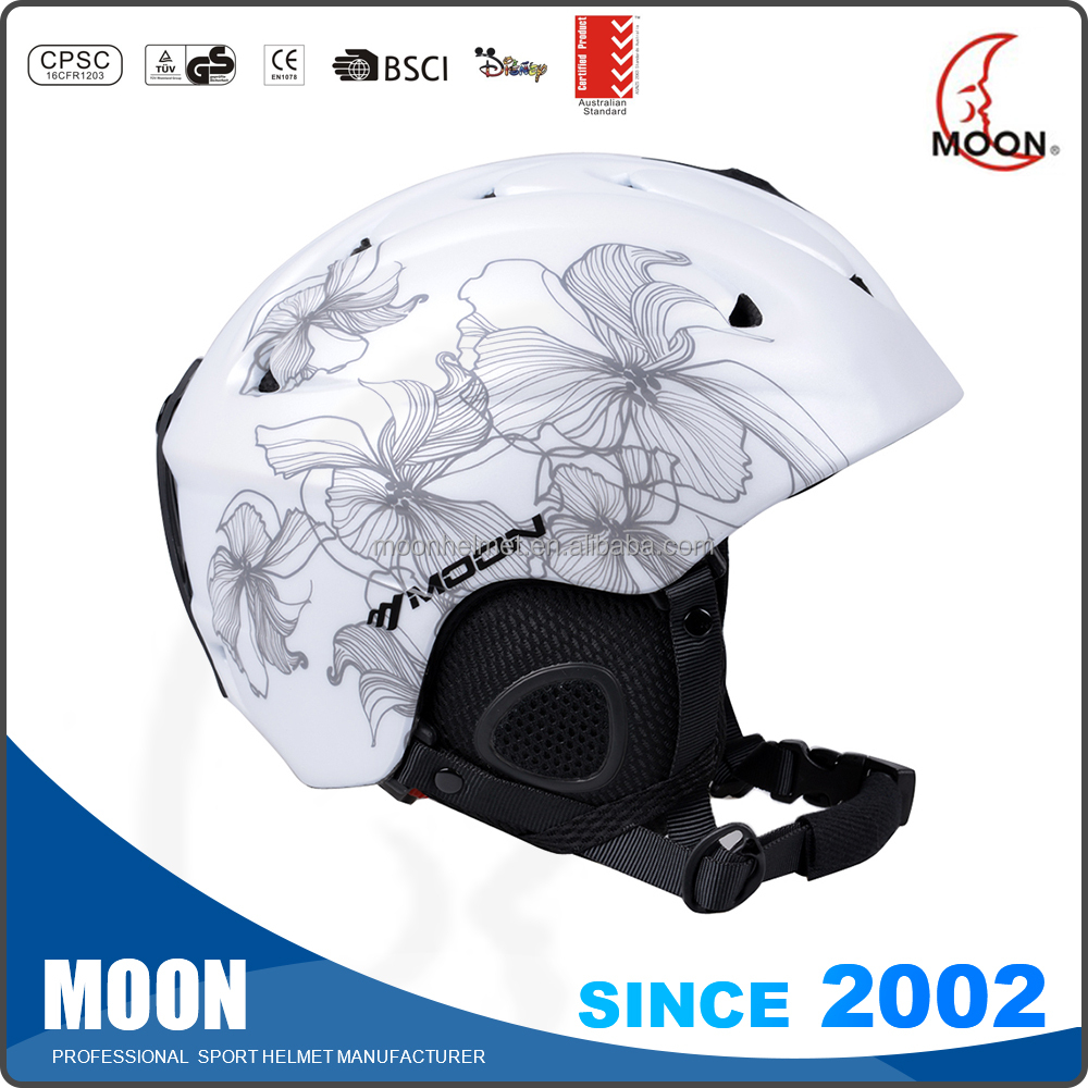 Wholesale best snowboard helmets 2017 Hot Selling Unisex Ski Helmet Style Snow Sports Protector Safety High Quality Snow Helmet