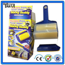 High quality sticky buddy roller/washable sticky roller/sticky lint roller