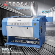 60W CNC Laser Engraver Cutter Machine Redsail X700 With Rotary Attachment