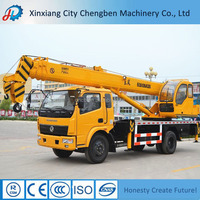 Powerful Engine Mobile Crane 16 ton Truck Crane for Sale