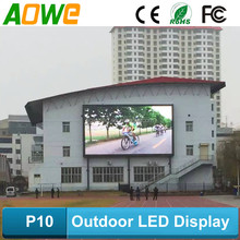 outdoor waterproof wall led screen p10 ph16 led display
