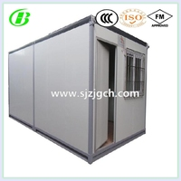 20 and 40ft shipping standard reefer container house movable