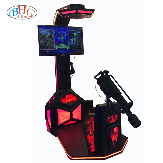 interactive virtual reality equipment vr machine video games