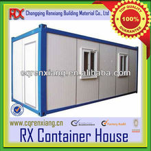 RX Light Steel Structure Pre Fabricated Container Homes with Environment-friendly and Cost-saving