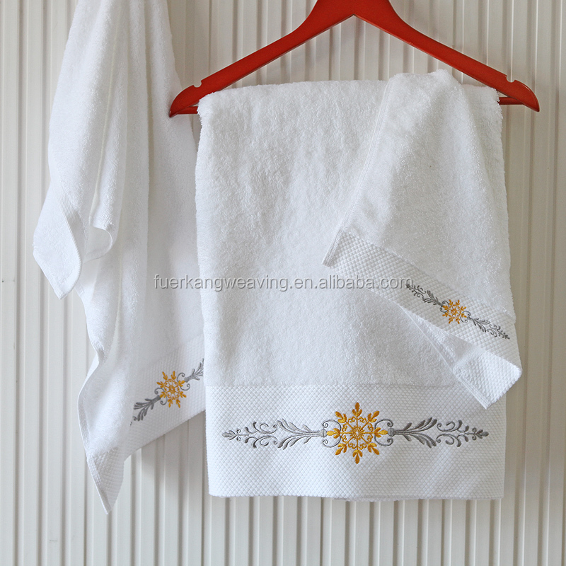 High quality hotel guest house guest towel