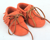 latest baby soft sole genuine leather moccasins shoes boots