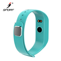BSCI Facrory IP67 Waterproof Heart Rate Fitness Band IOS& Android support App With Incoming Call Notificatio Bluetooth Bracelet.