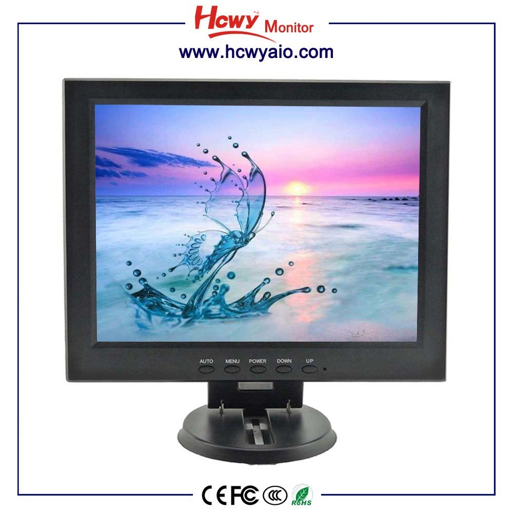 "High Quality 12"" TFT VGA Lcd Monitor /12 inch Lcd CCTV Monitor For Car"