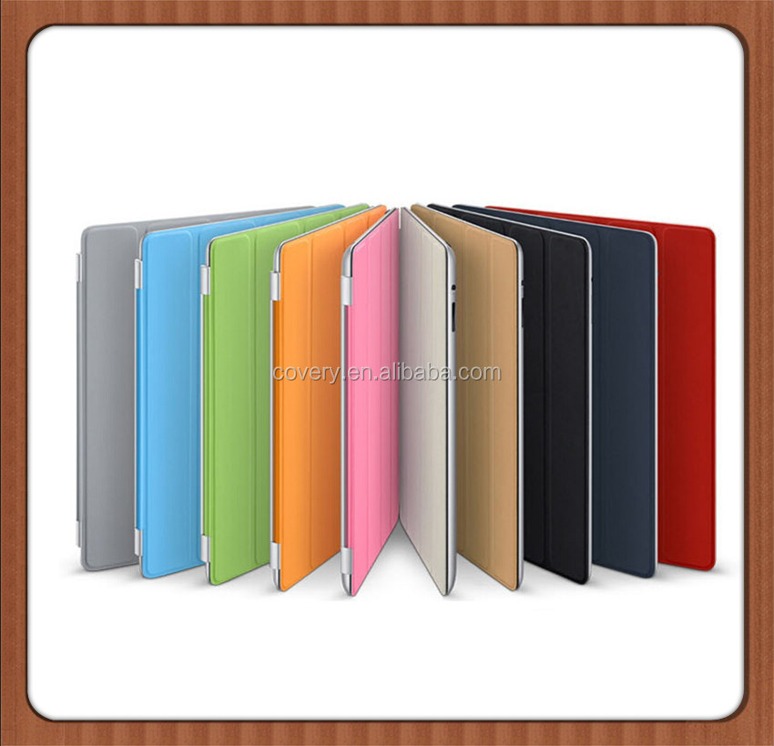 Factory hot sale leather case for ipad , smart cover case shockproof tablet case for 10.1 inch with sleep function