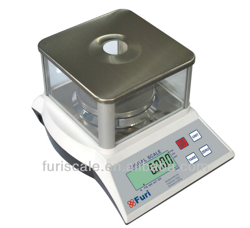 Furi KHR laboratory digit balance bench with reliable performance and strong function