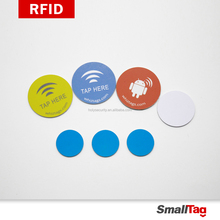 custom Epoxy Card with NFC Epoxy RFID Tag/NFC Tag nfc disposable rfid ticket card