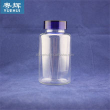 HDPE/PET/PE pill plastic bottles using for tablet with screw cap