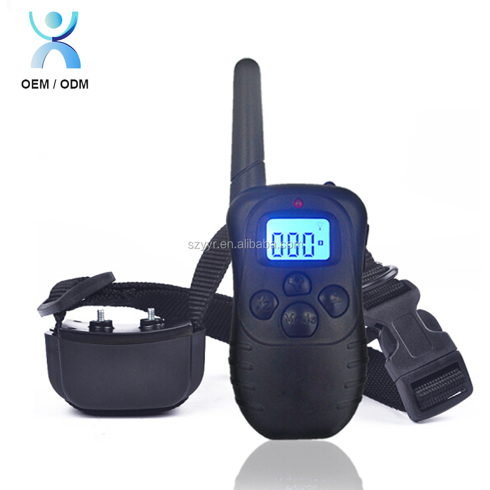 Waterproof and Rechargeable Electronic Shocking Vibration Remote Dog Training Collars Electric Pet training collars Pet