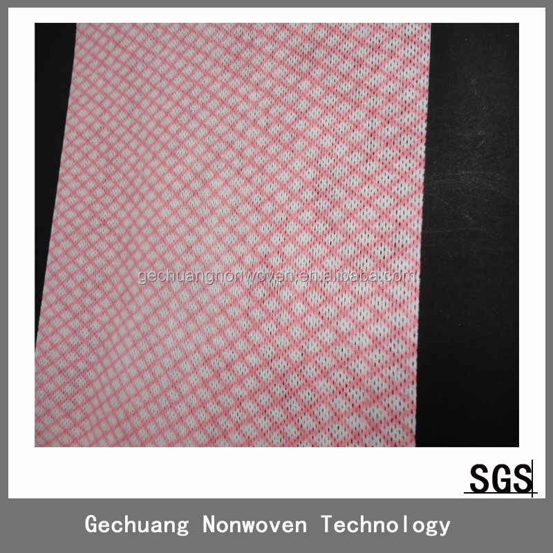 80%polyester+20%PP spunlace non woven clothes for coffee shop cleaning factory