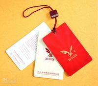 China factory customized different shape hang tag for garment