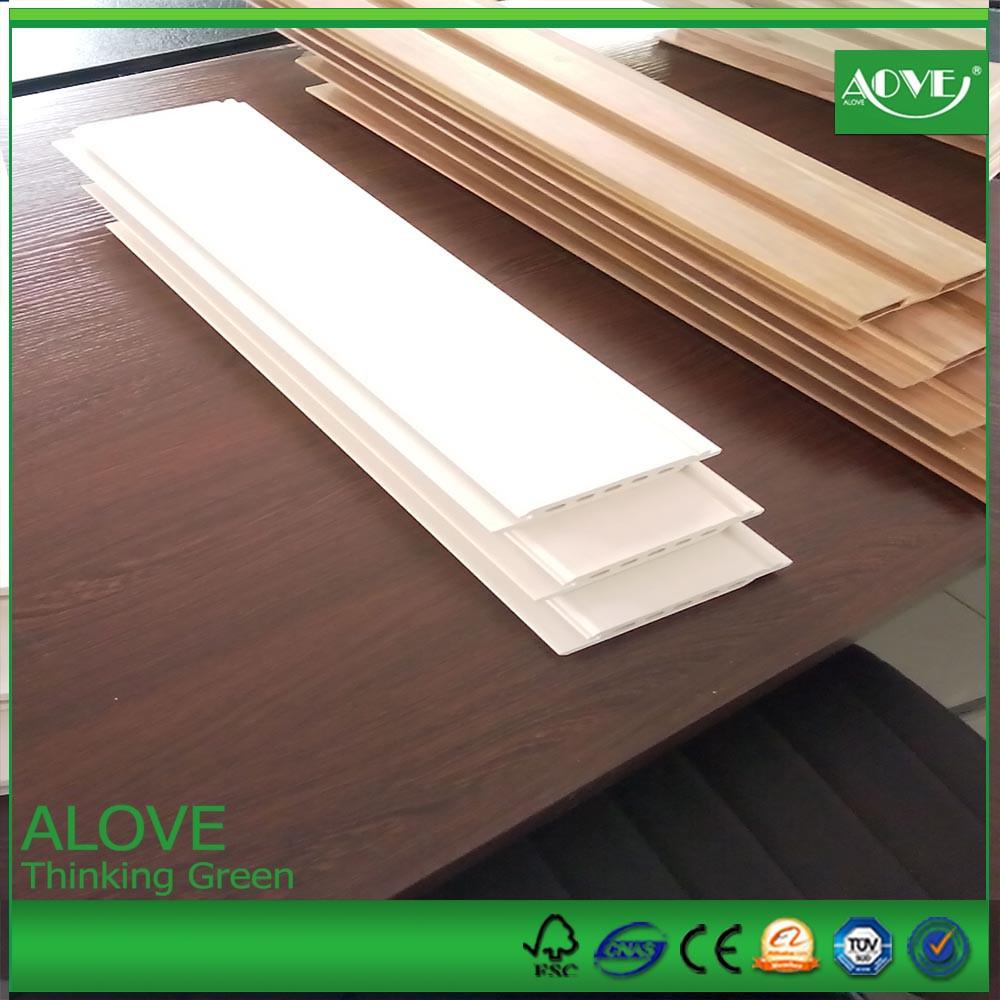 Venta al por mayor madera puesta perfiles de plástico pre