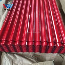 Decorative Building Material metal roofs, color corrugated steel sheet from China manufacture