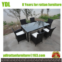 YDL outdoor dining sets patio furniture direct patio rattan chairs and table