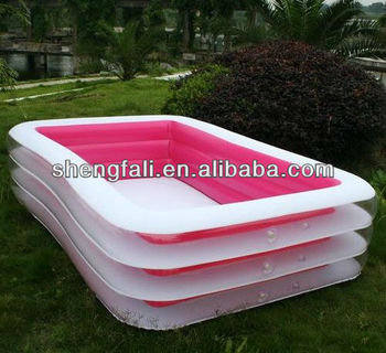 Durable and Popular Inflatable Water Pool/Swimming Pool with High Quality